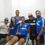 tratamientos para profesionales jugadores del Malaga Club de Futbol