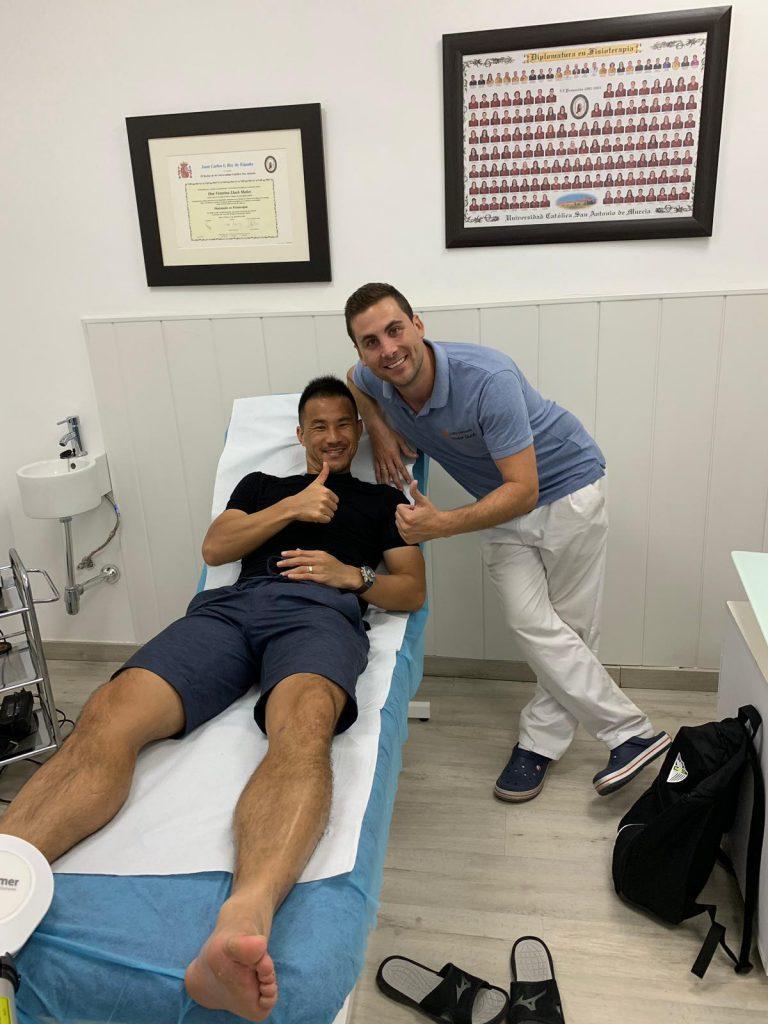 tratamientos para profesionales Shinji Okazaki